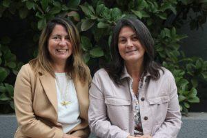 Paulina Acosta y Carolina Toledo.