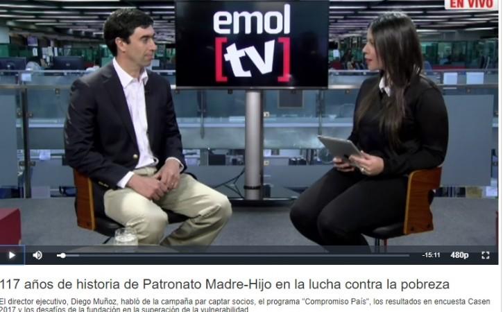 Pantallazo entrevista DM en EmolTV