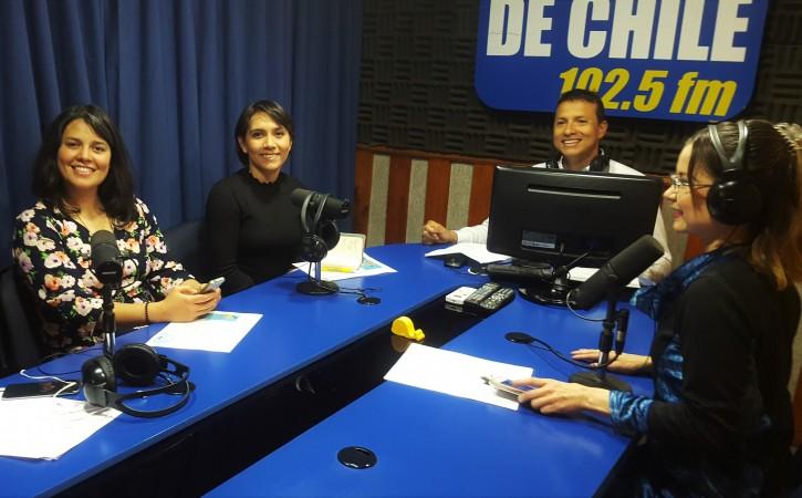 RADIO UNIVERSIDAD DE CHILE 3NOV2017